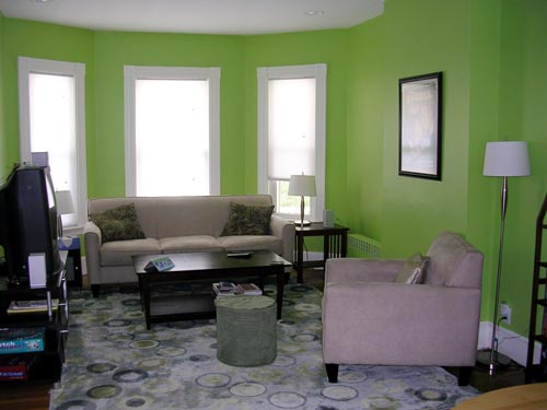 , jadi pilihlah warna-warna yang sesuai dengan ruangan dan fungsinya